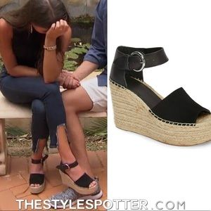 NEW Marc Fisher LTD Alida Espadrille Wedge Sandals